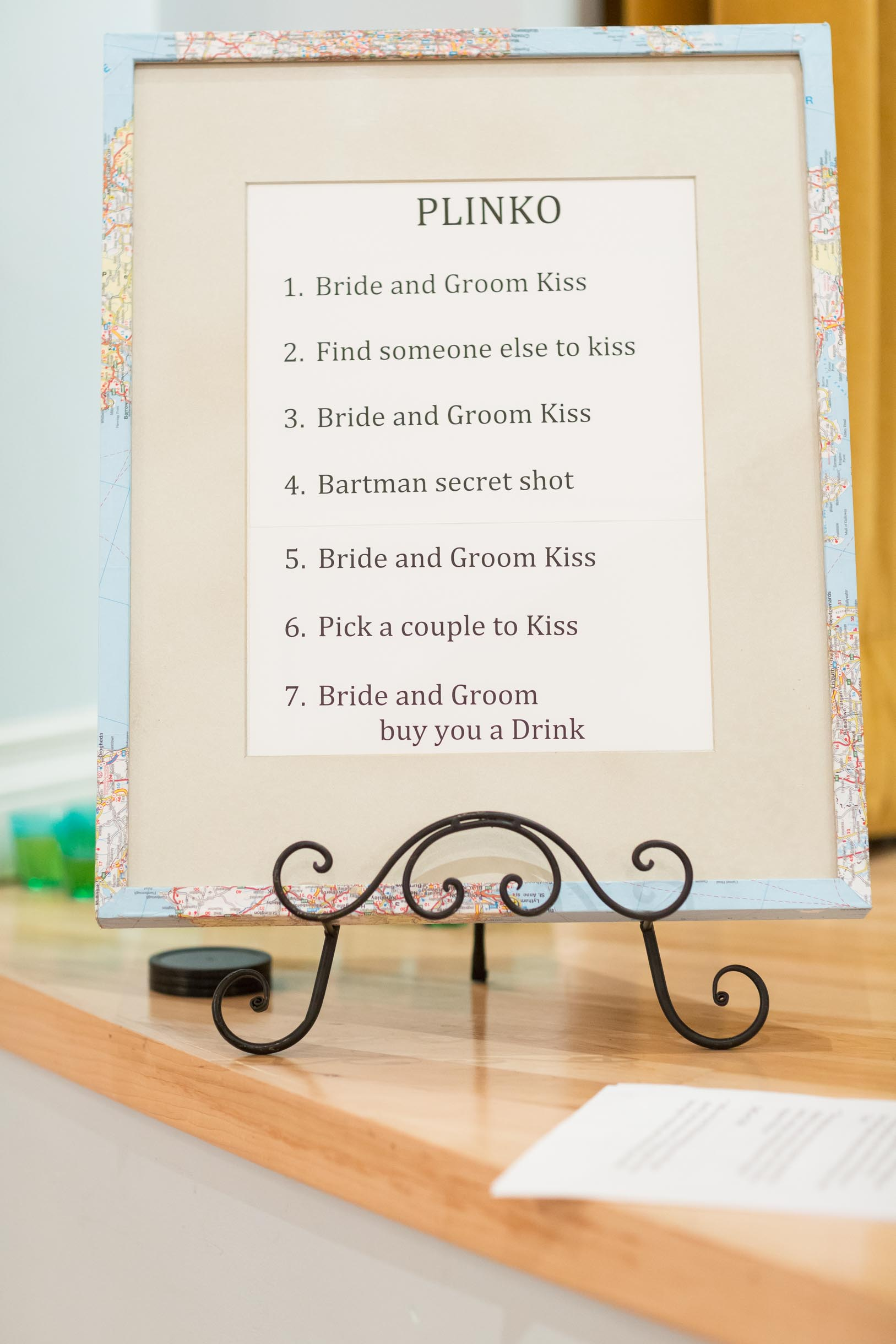 wedding kissing games