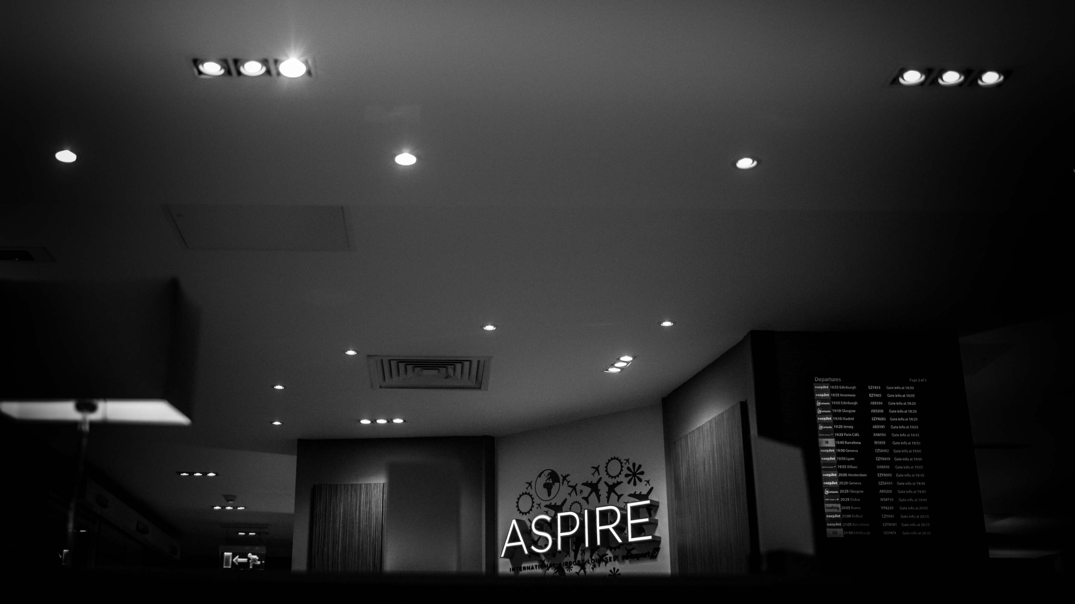 Aspire lounge Gatwick London airport