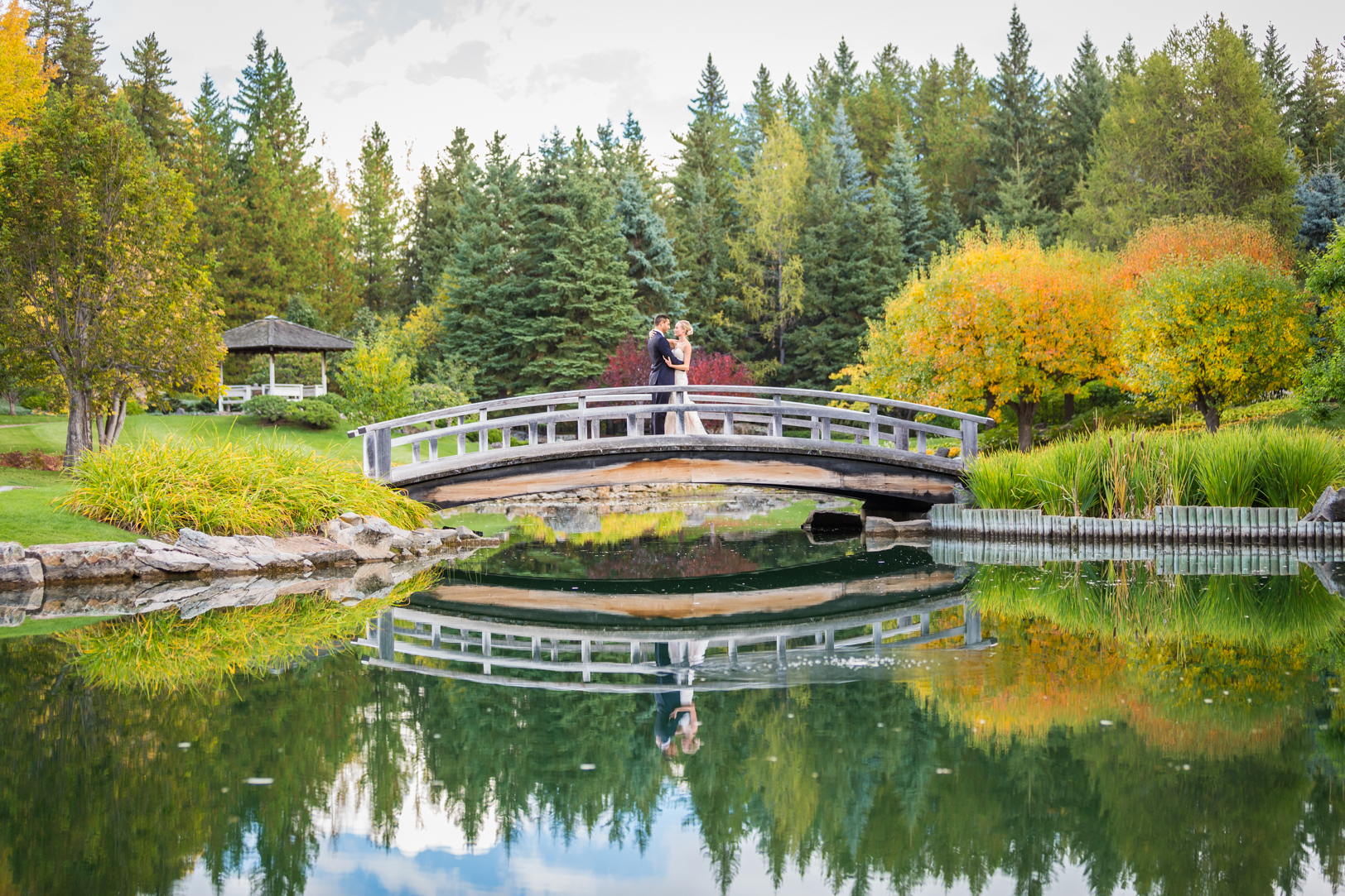 Devonian Botanic Gardens Wedding Ceremony Pictures