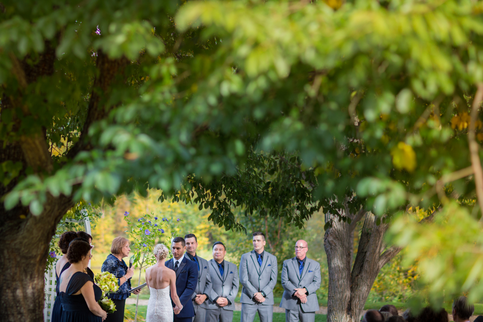 Devonian Botanic Gardens Wedding