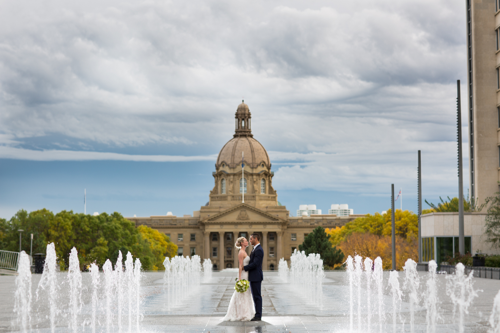 autumn wedding photos edmonton