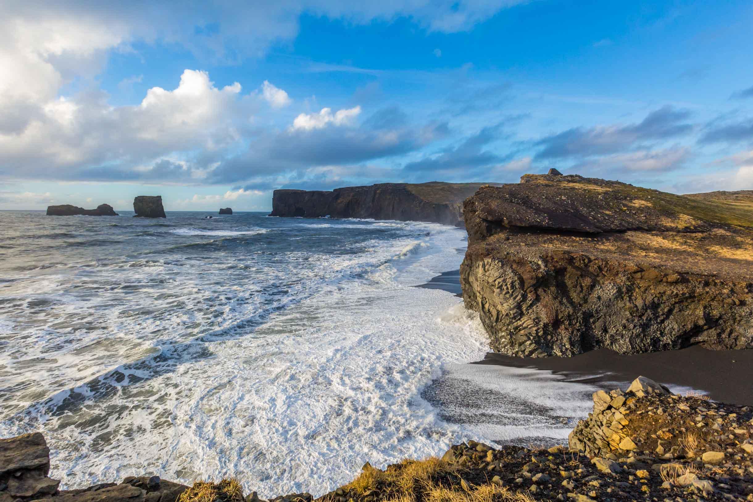Dyrholaey beach