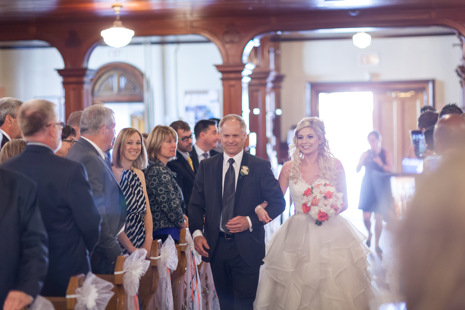 wedding procession photos