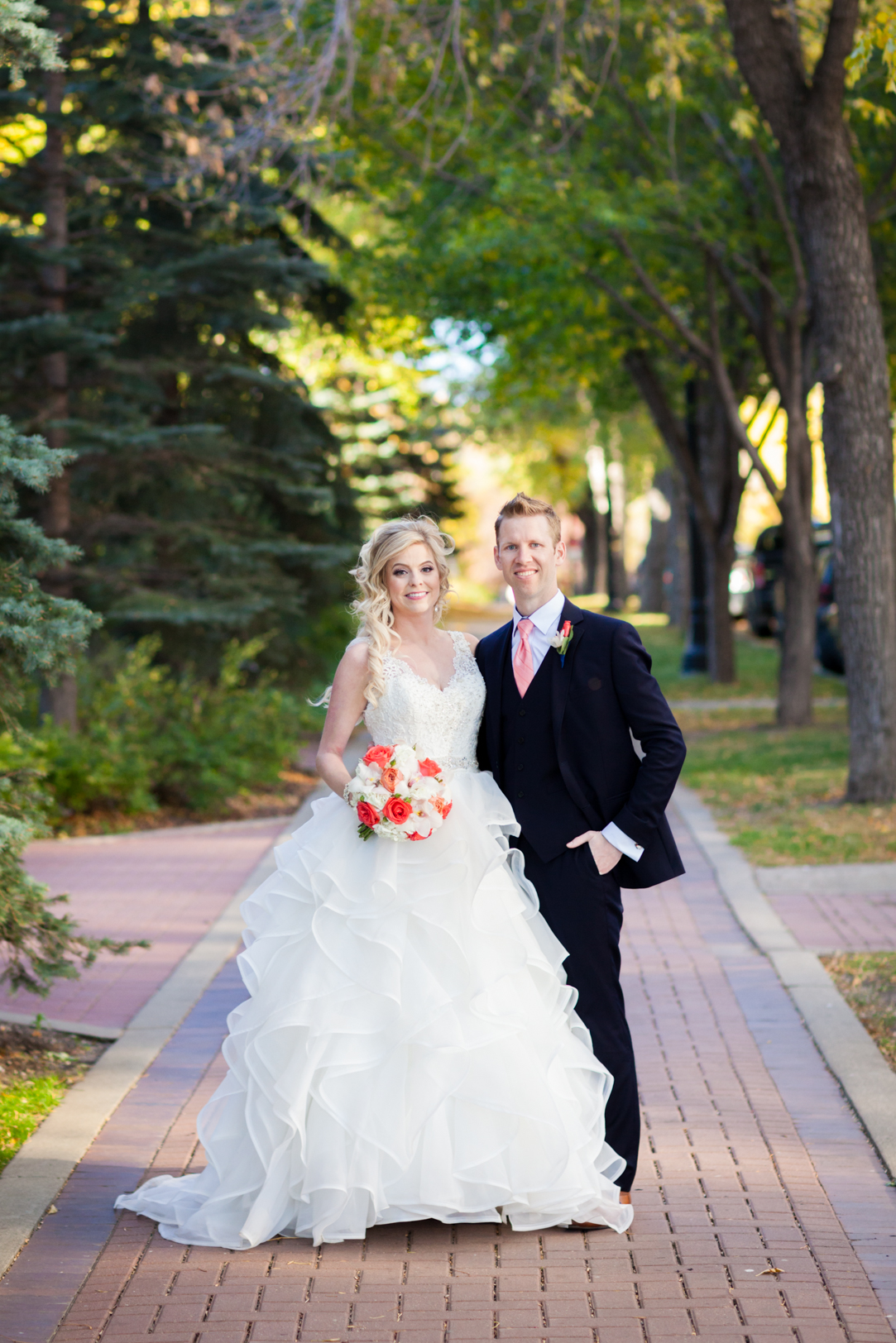 edmonton river valley wedding