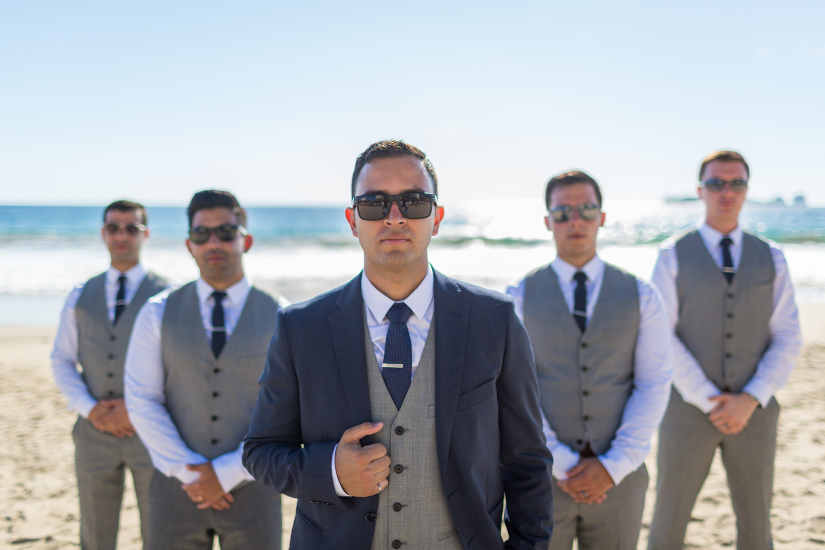Sunscape Dorado Pacifico Ixtapa destination wedding groomsmen picture