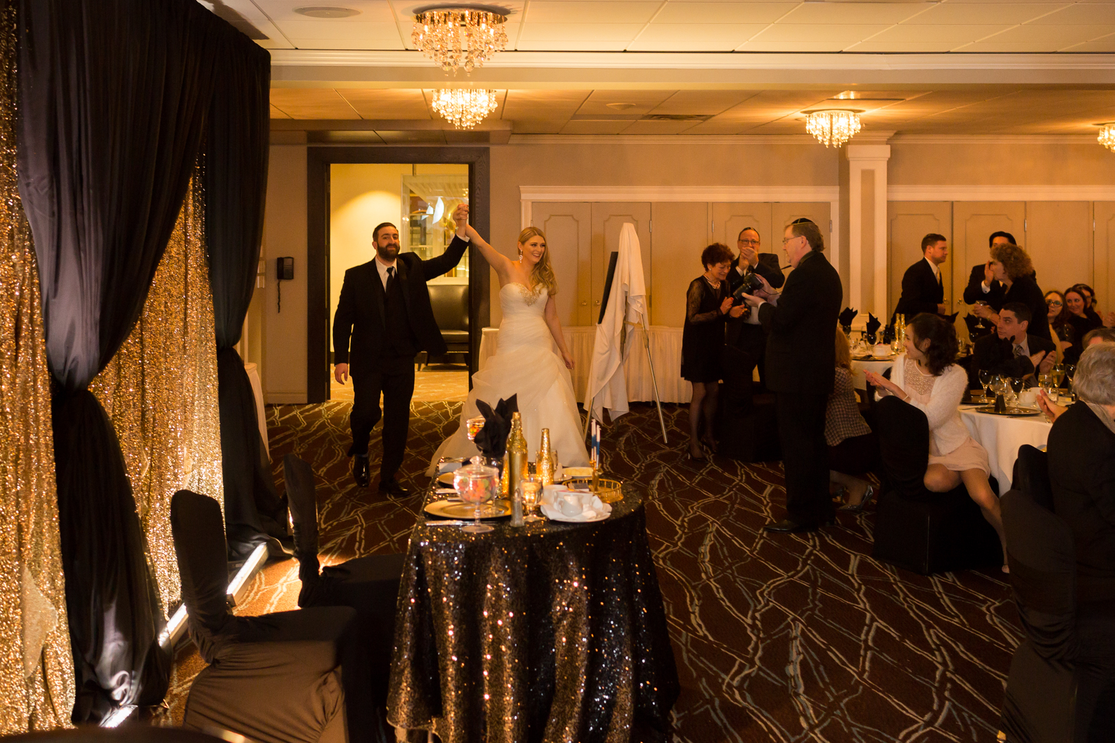 fantasyland hotel wedding reception