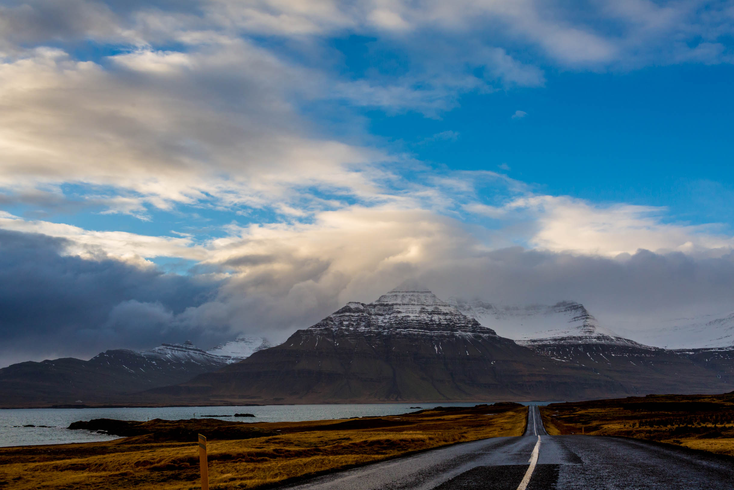 Driving eastern Iceland