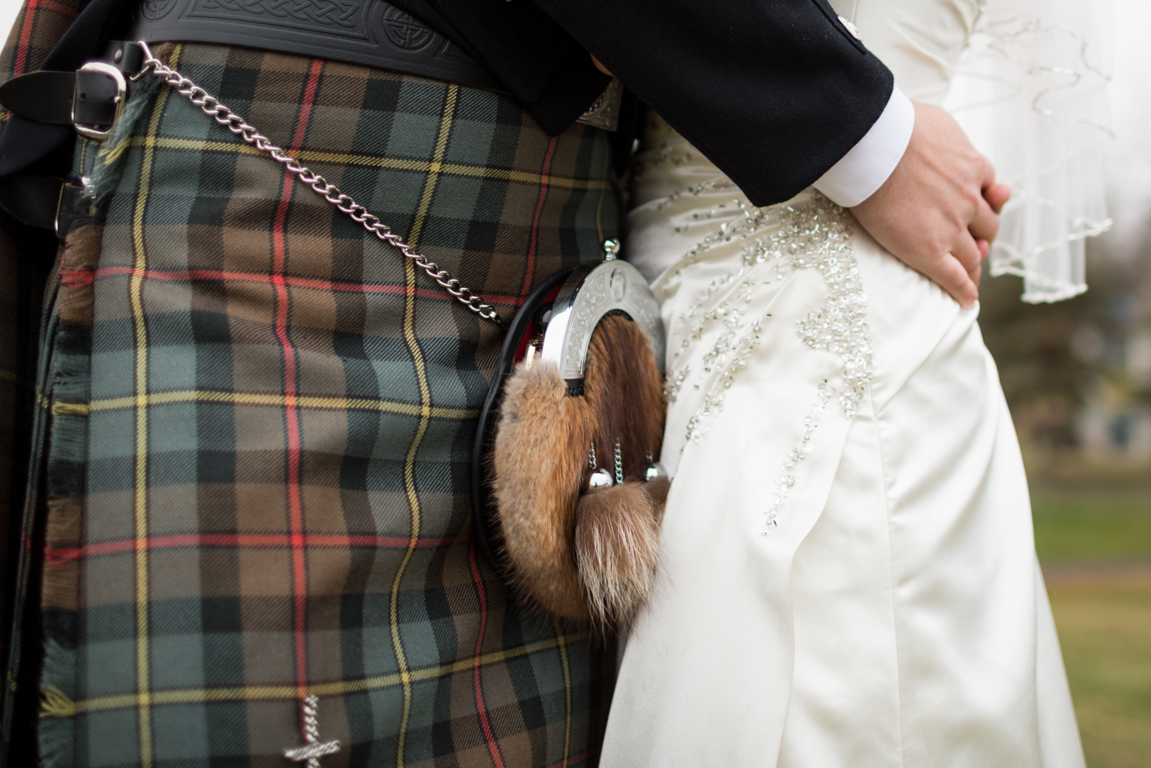 wedding kilt