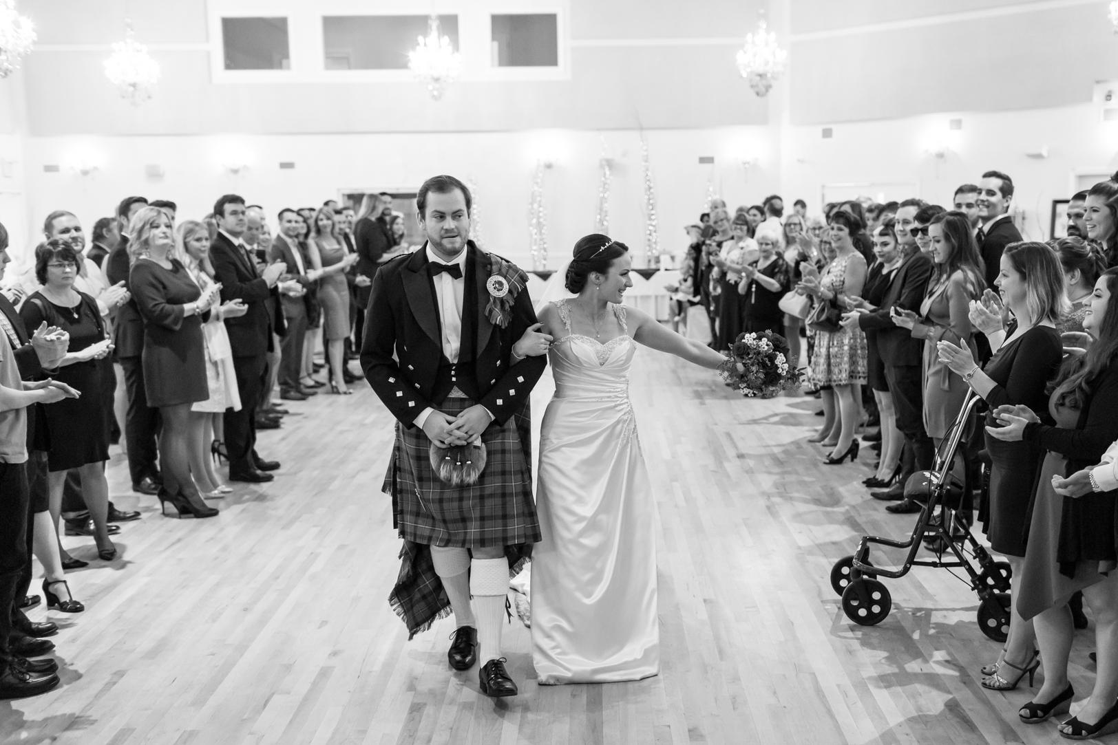 scottish bagpipes at wedding