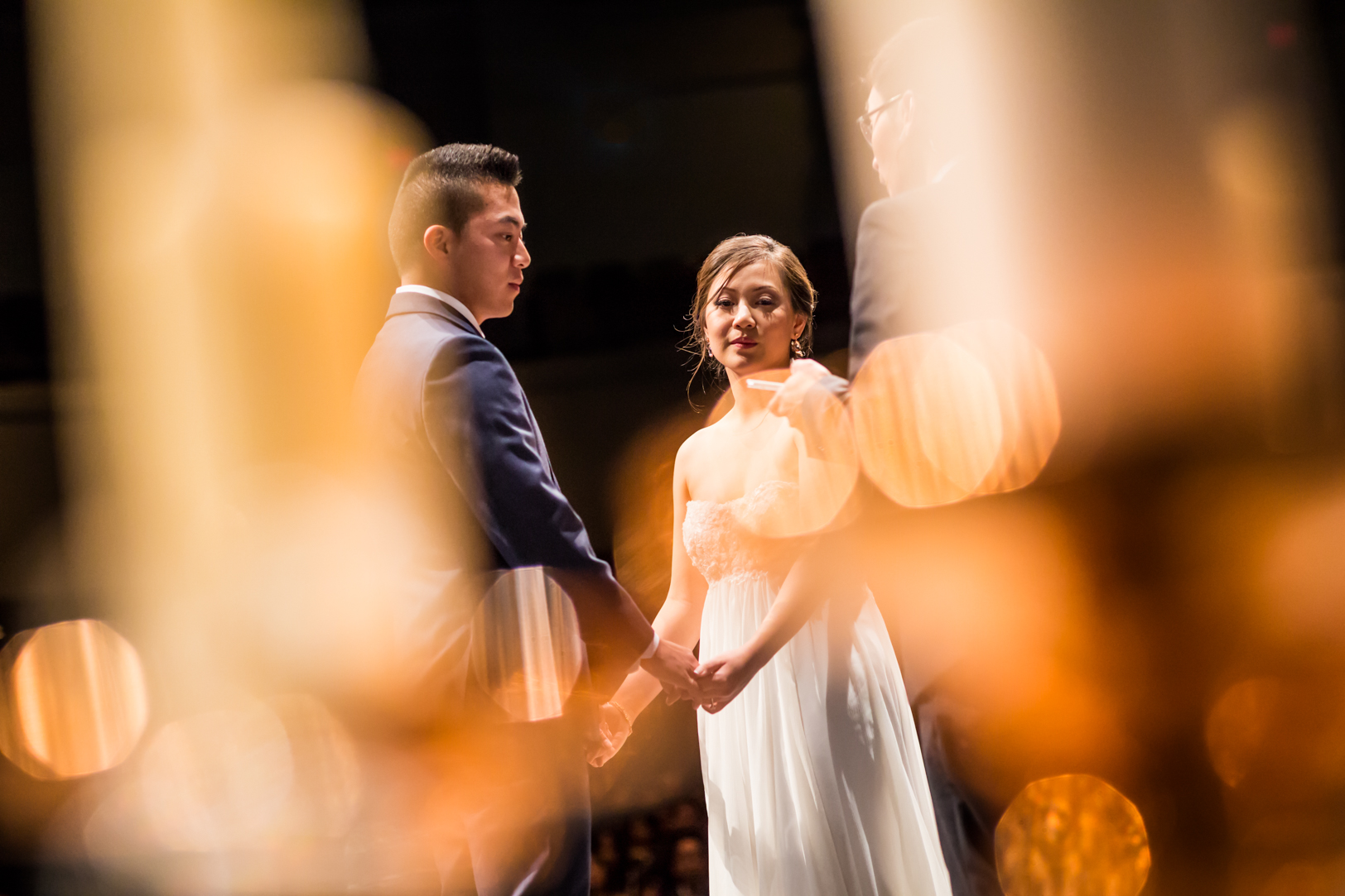 creative wedding ceremony photo