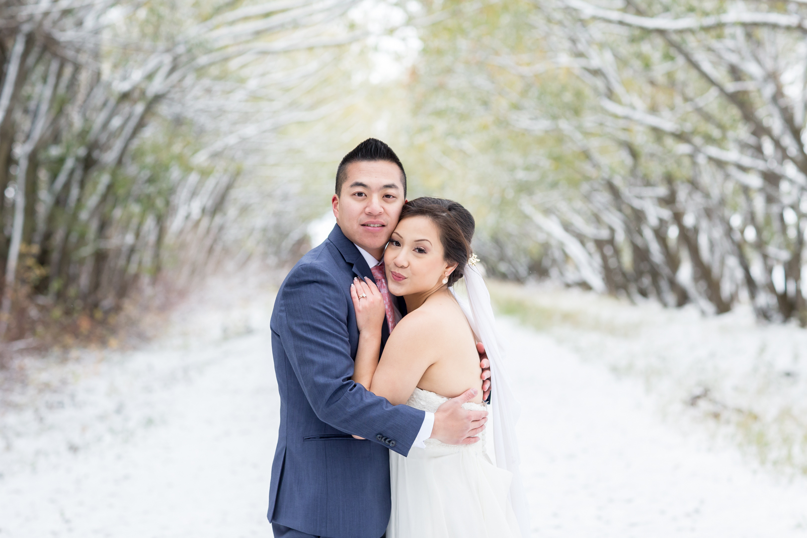 winter wedding photos edmonton