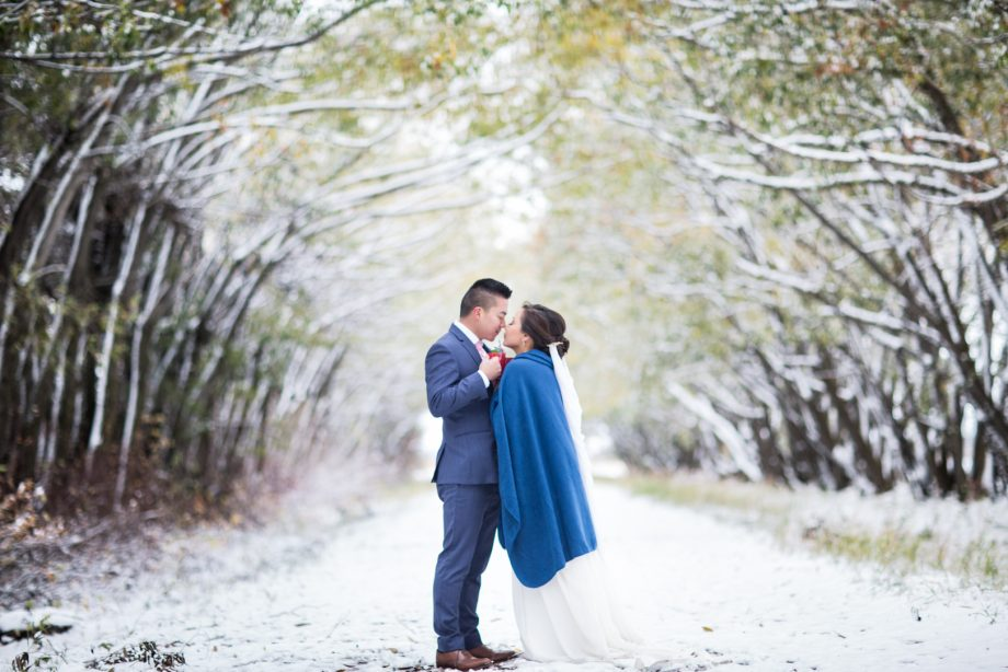 Edmonton Autumn Wedding – Thy & Jeremy