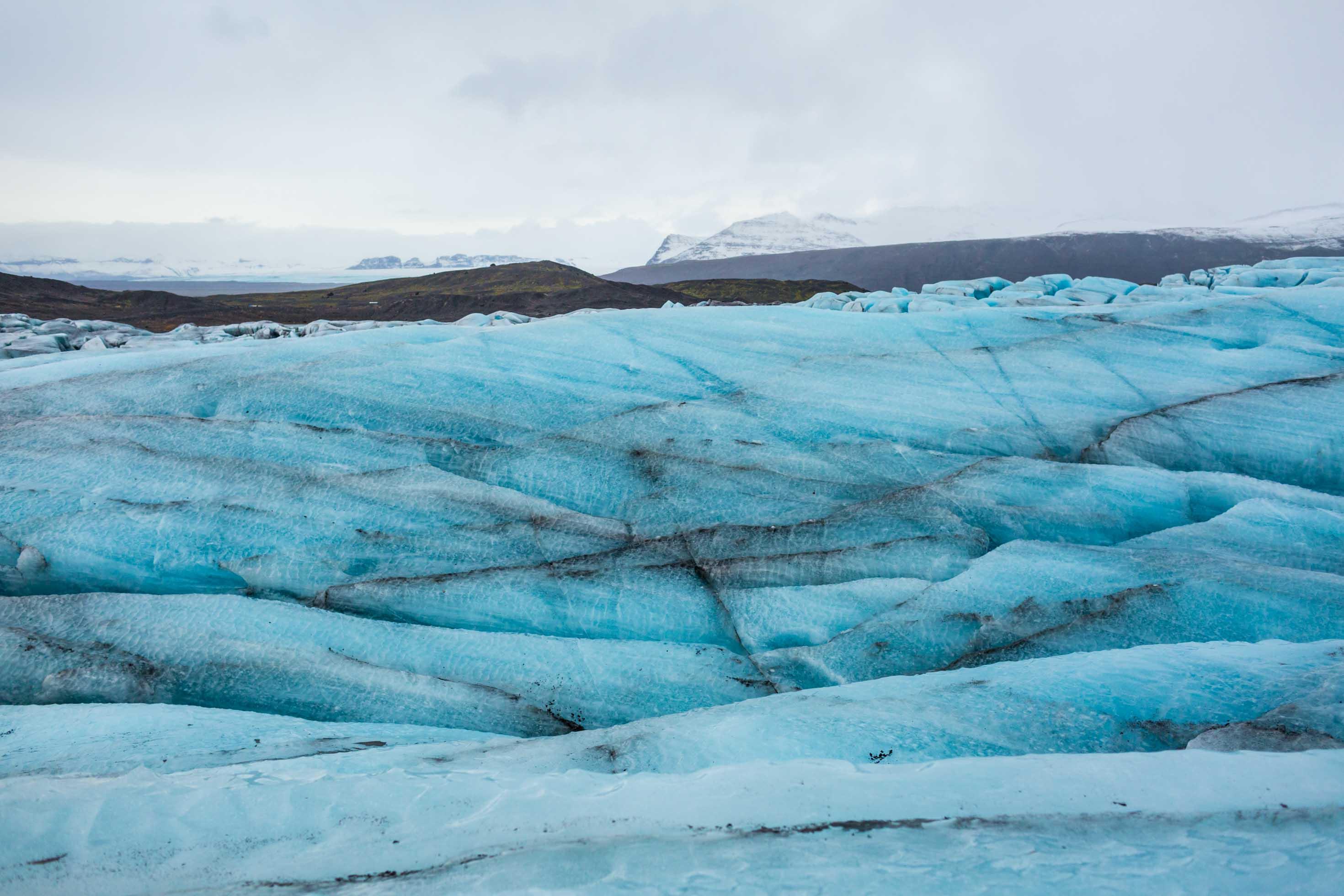 Breiðamerkurjökull glacier - Pictures of glaciers in Iceland.