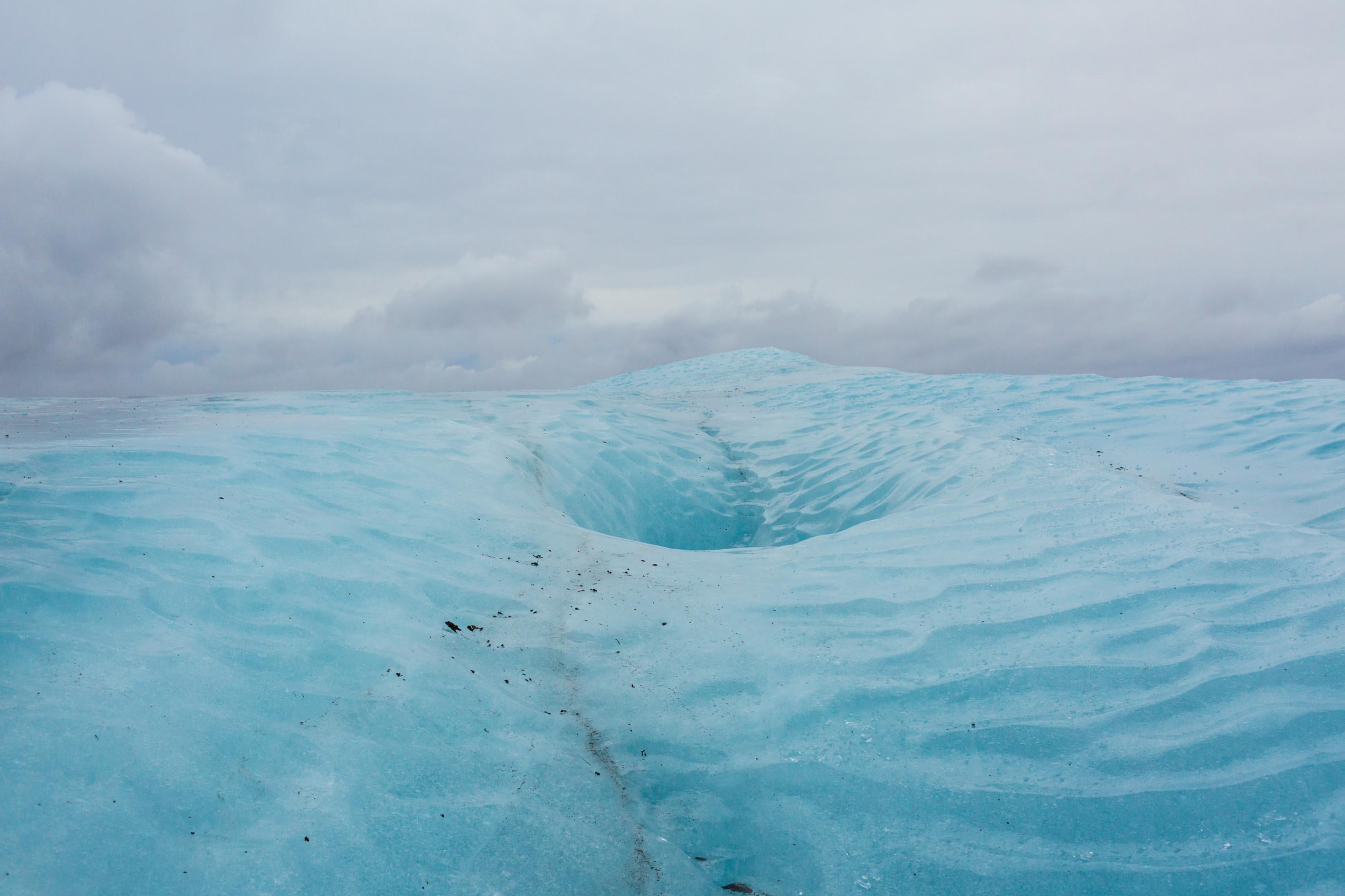 Breiðamerkurjökull glacier walk - Pictures of glaciers in Iceland.