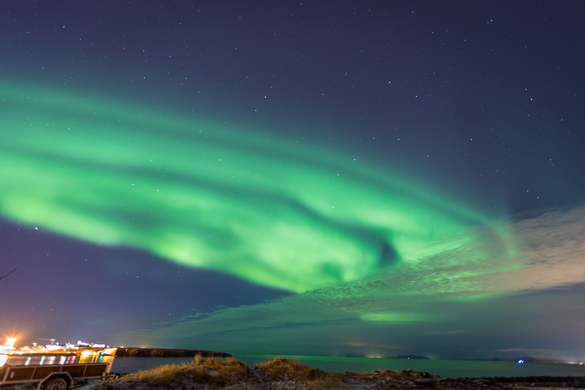 keflavik northern lights iceland