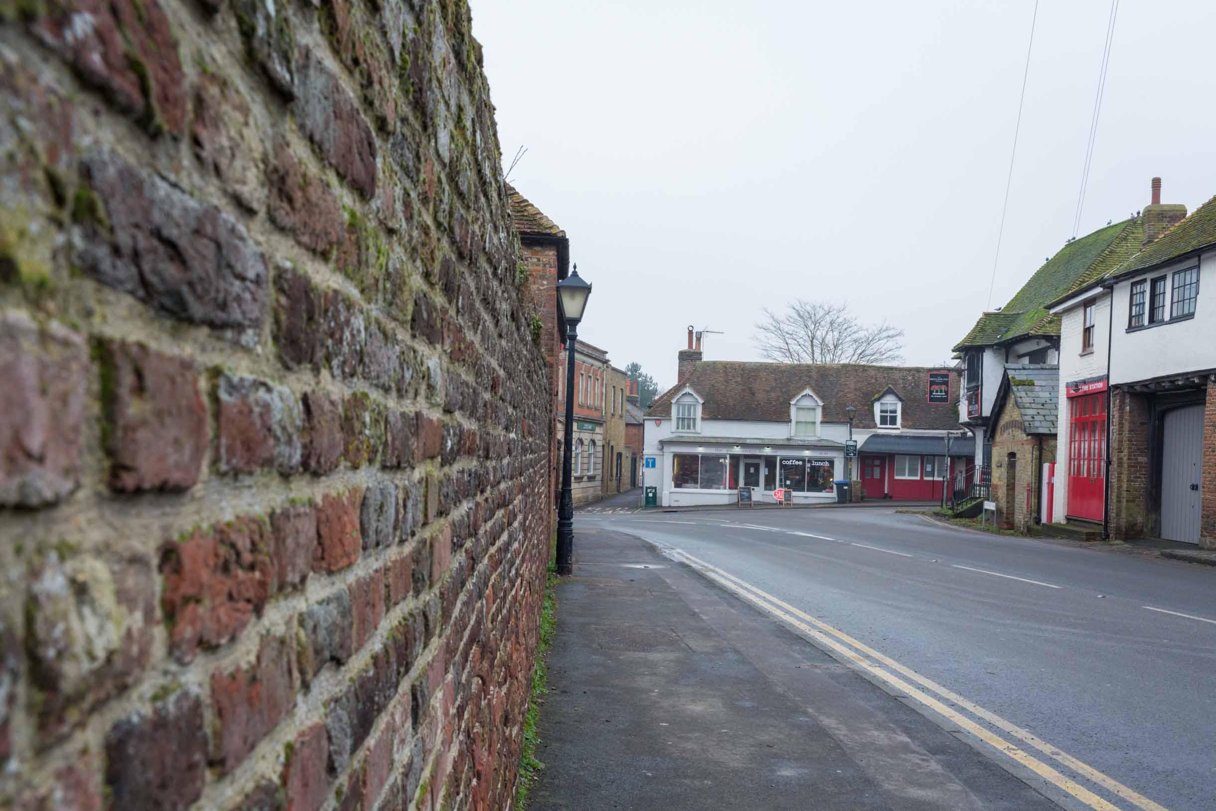 Wigham village england