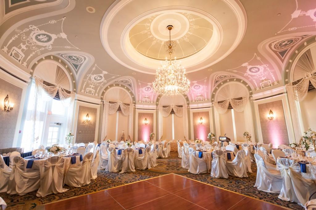 Indoor Edmonton Wedding Reception Venues Deep Blue Photography