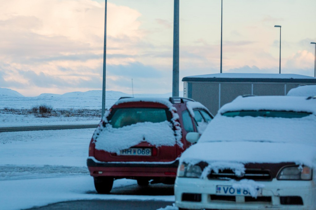tips for winter driving in iceland
