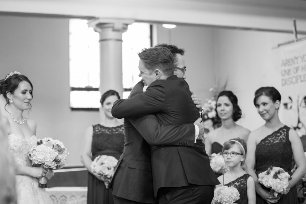 Edmonton wedding ceremony photography