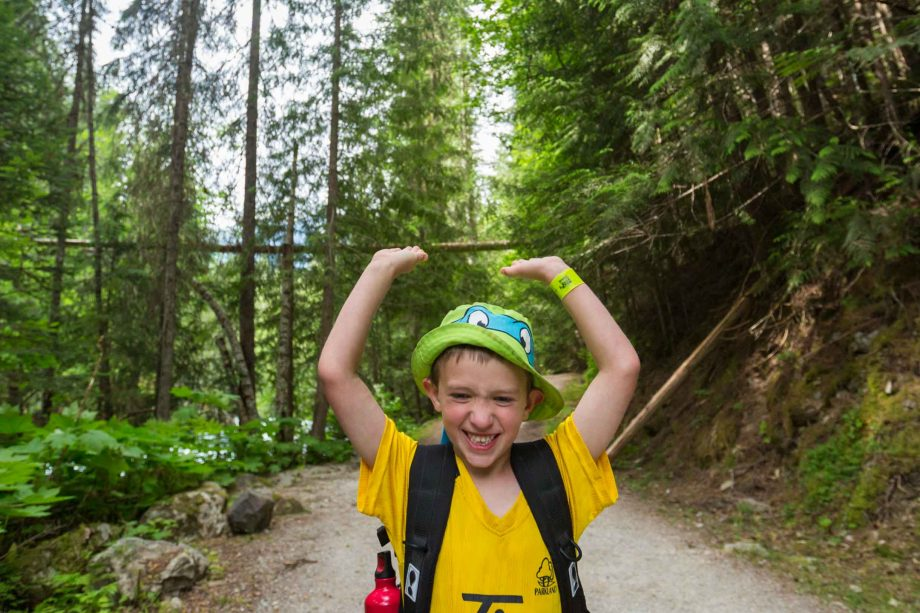 Tips for backpacking with kids