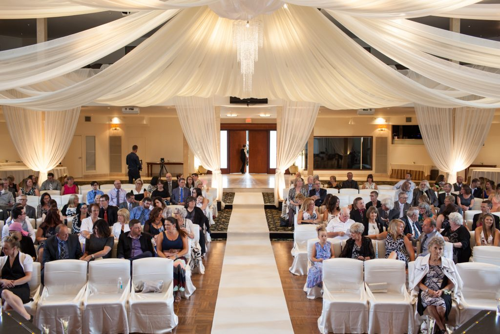 Oasis Centre wedding ceremony