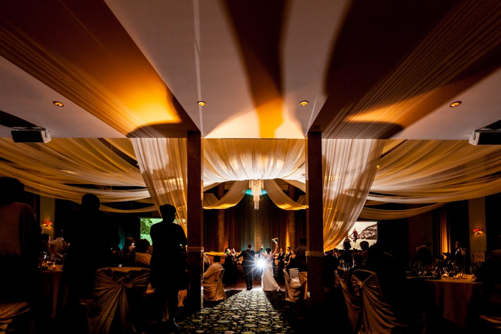 oasis centre wedding reception