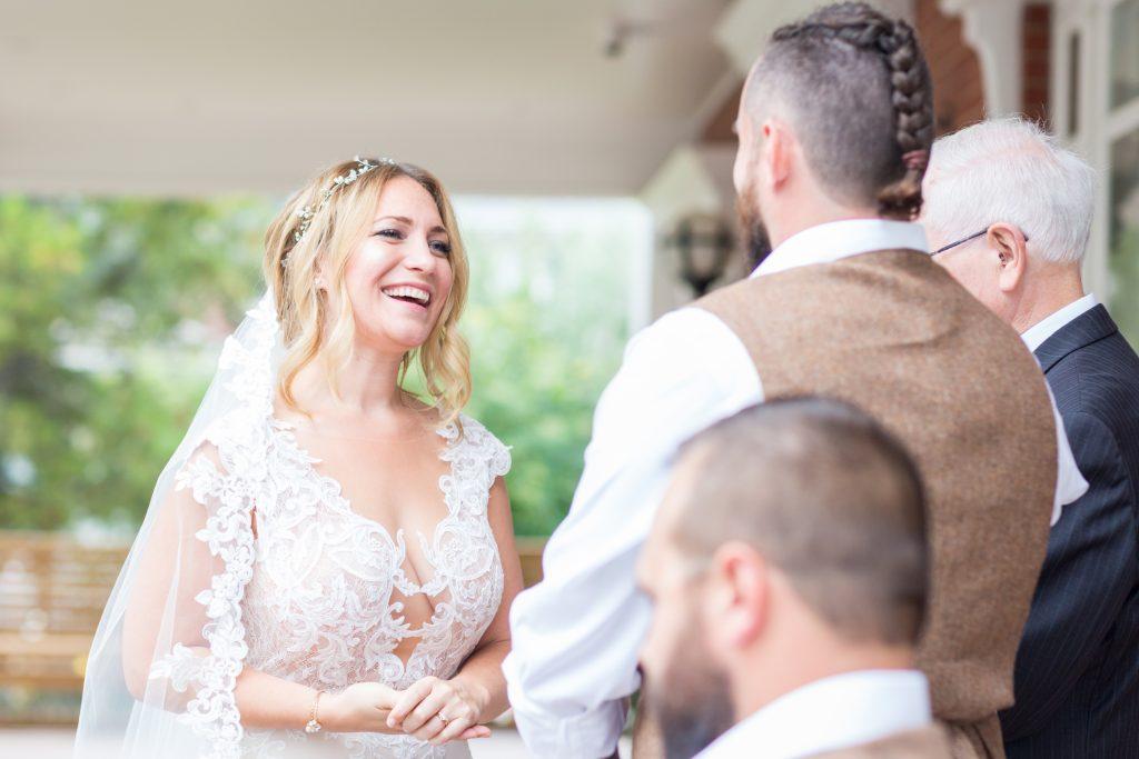 edmonton outdoor wedding ceremony