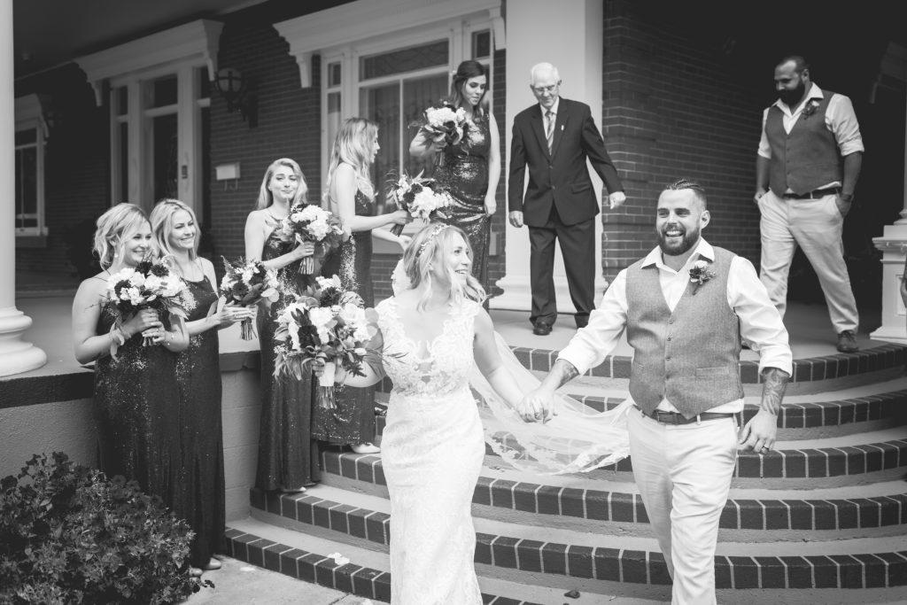 wedding ceremony magrath mansion