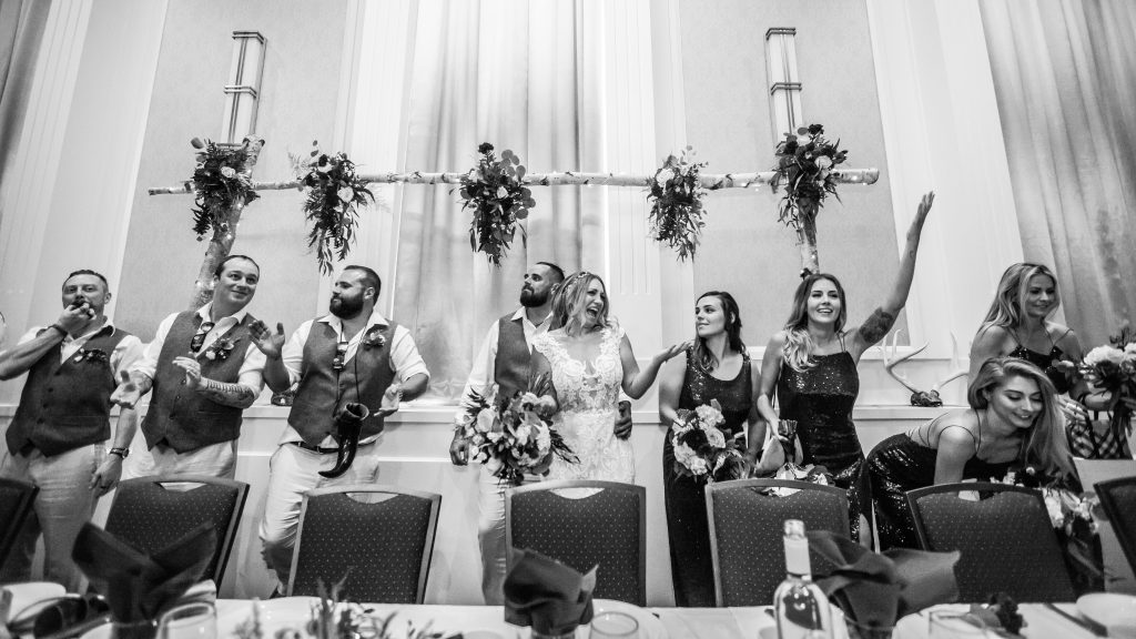 wedding reception polish hall edmonton