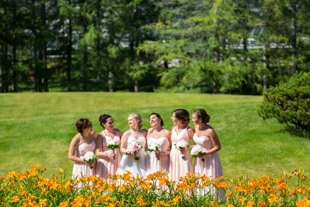 University of Alberta Botanic Garden wedding photos