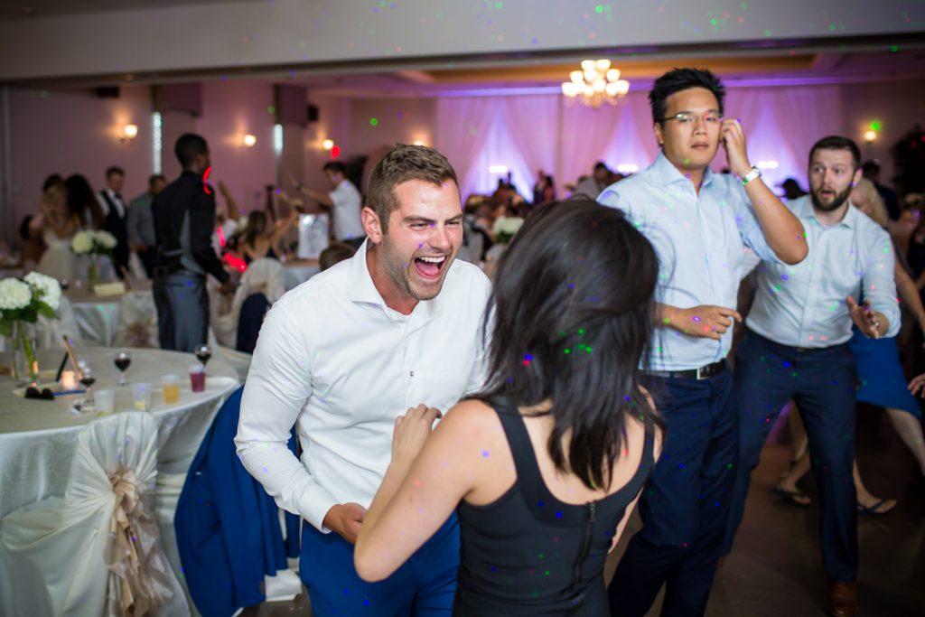 Wedding dance at Woodvale Golf Club Edmonton