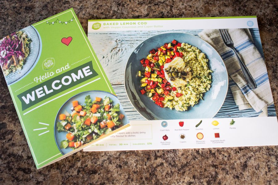 Hellofresh  Meal Kit Delivery Service Exchange Offer April 2020
