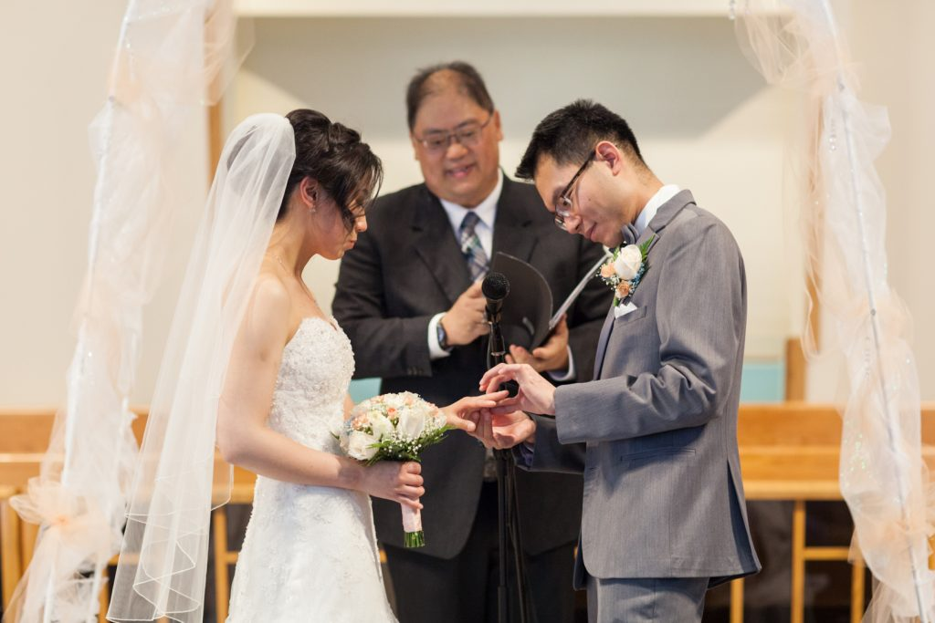 Edmonton Baptist Wedding
