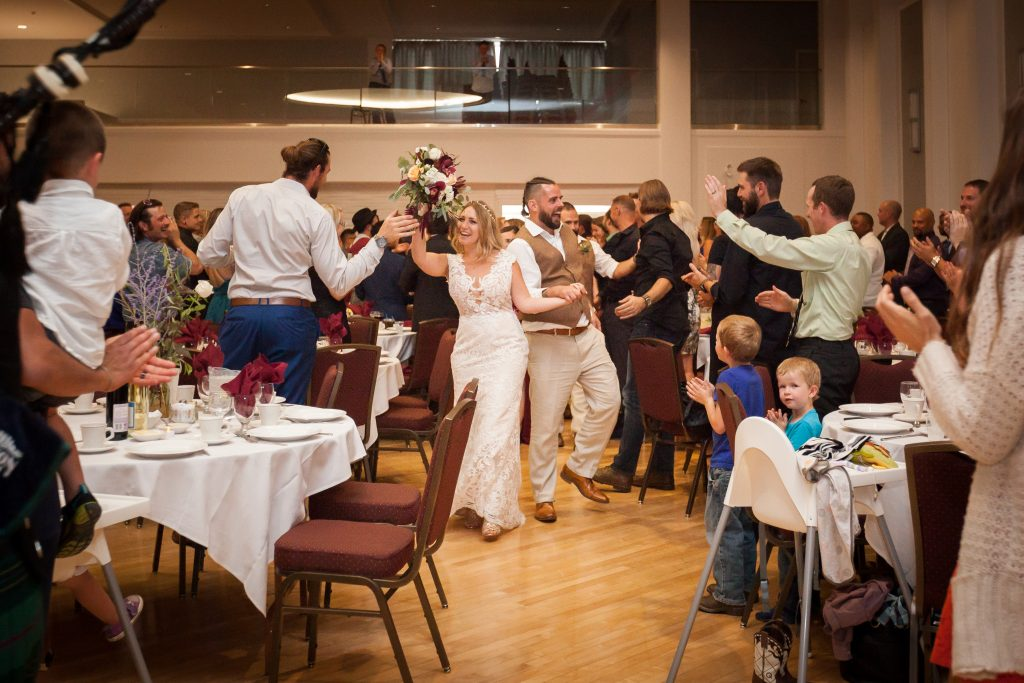 polish hall wedding reception