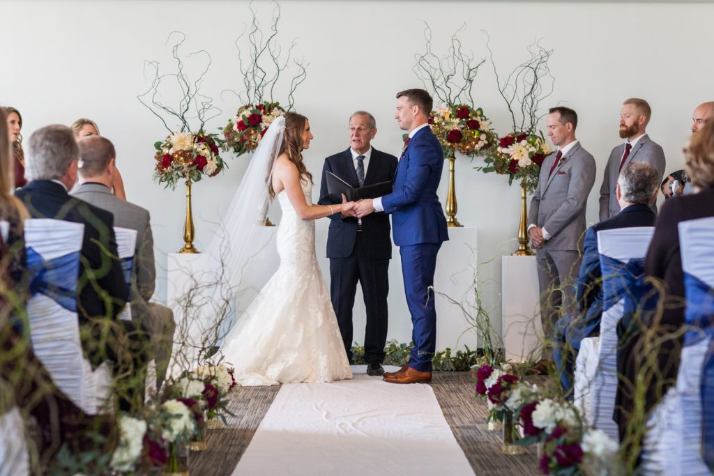 Shaw Conference Centre Riverview room wedding ceremony
