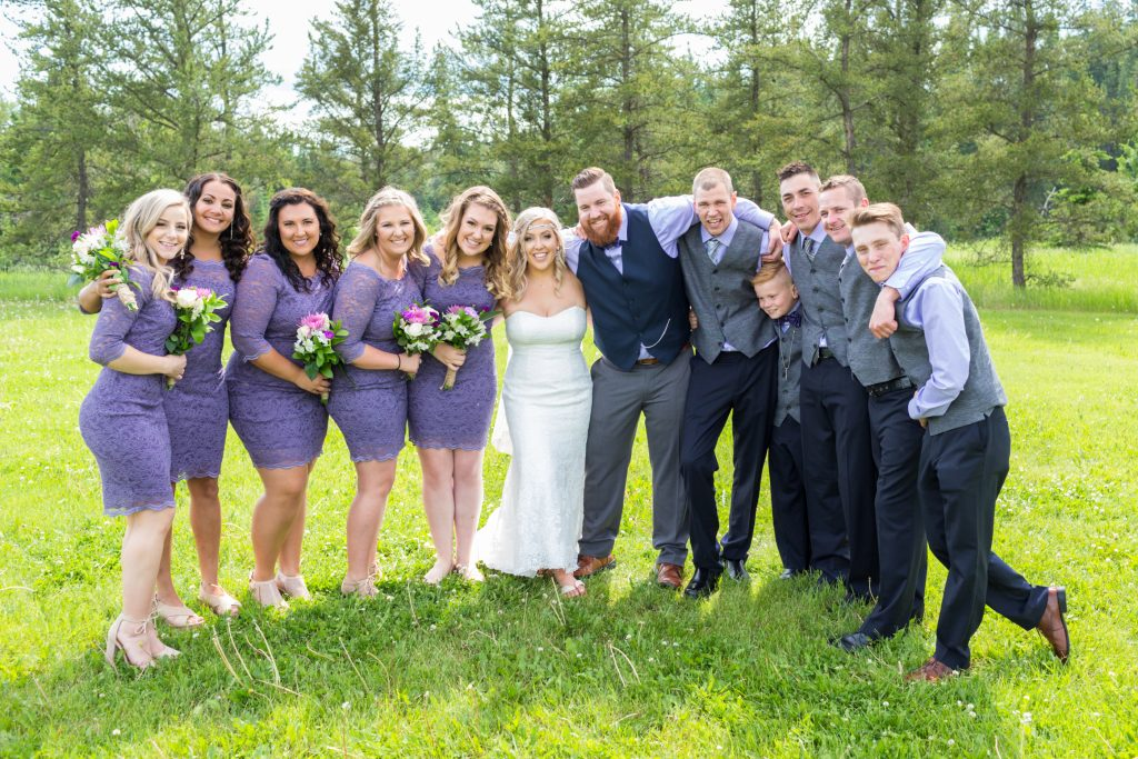 Summer Wedding Snow Valley