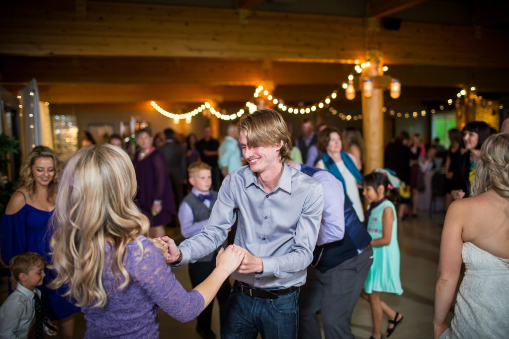 Snow Valley reception and dance venue for summer wedding