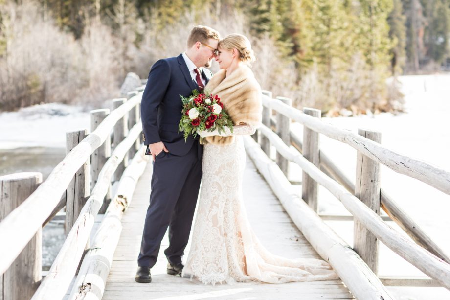 Winter Wedding Pyramid Lake – Michelle & David