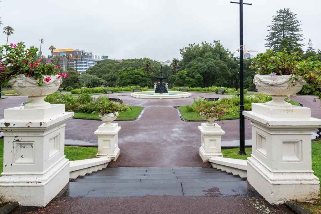 Auckland Albert Park - Exploring Auckland