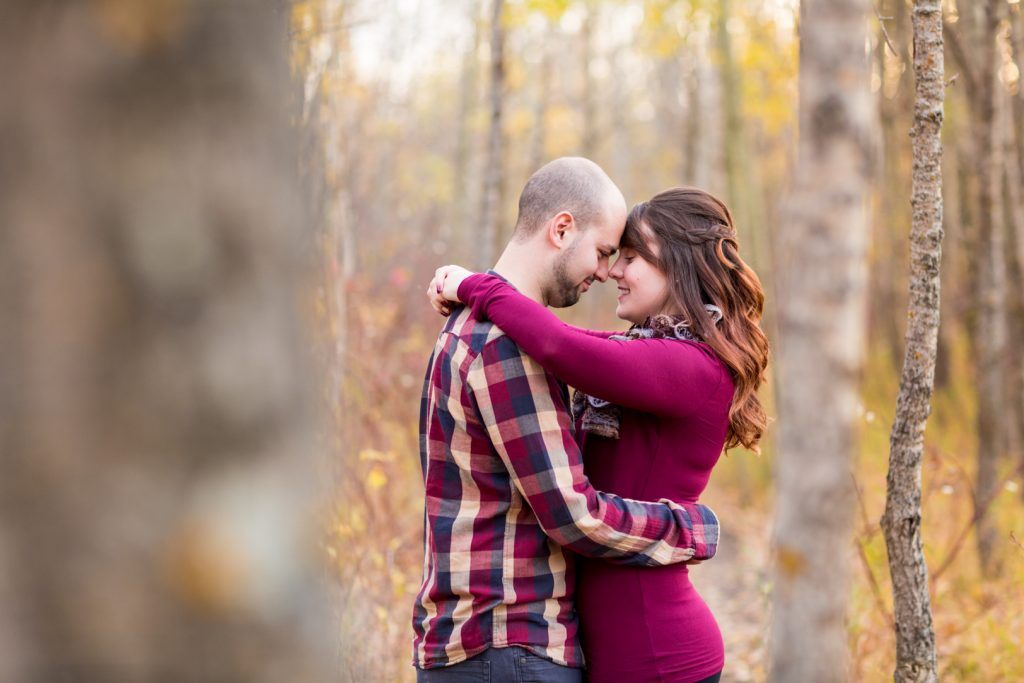 Edmonton Autumn Engagement Photos