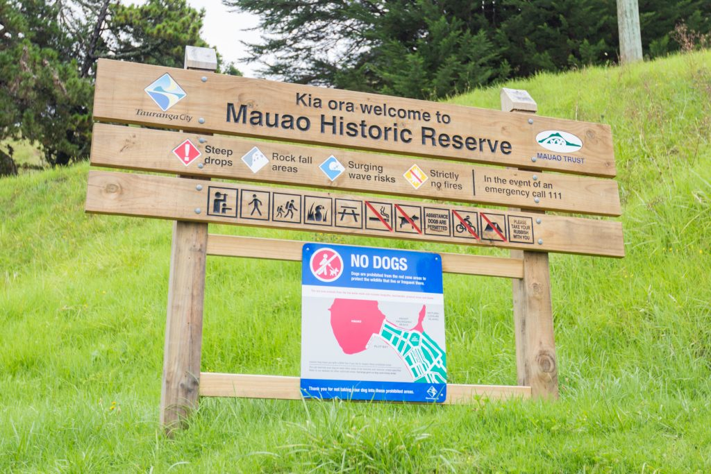 Tauranga Mauao Historic Reserve Tauranga