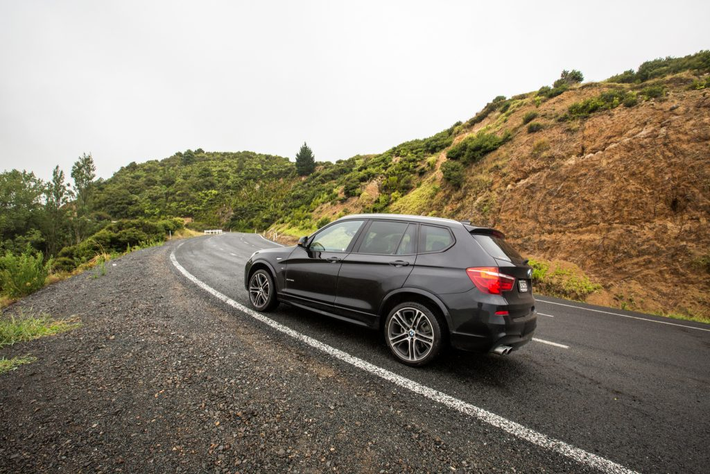 Our BMW X3 Rental While Driving the Coromandel Peninsula