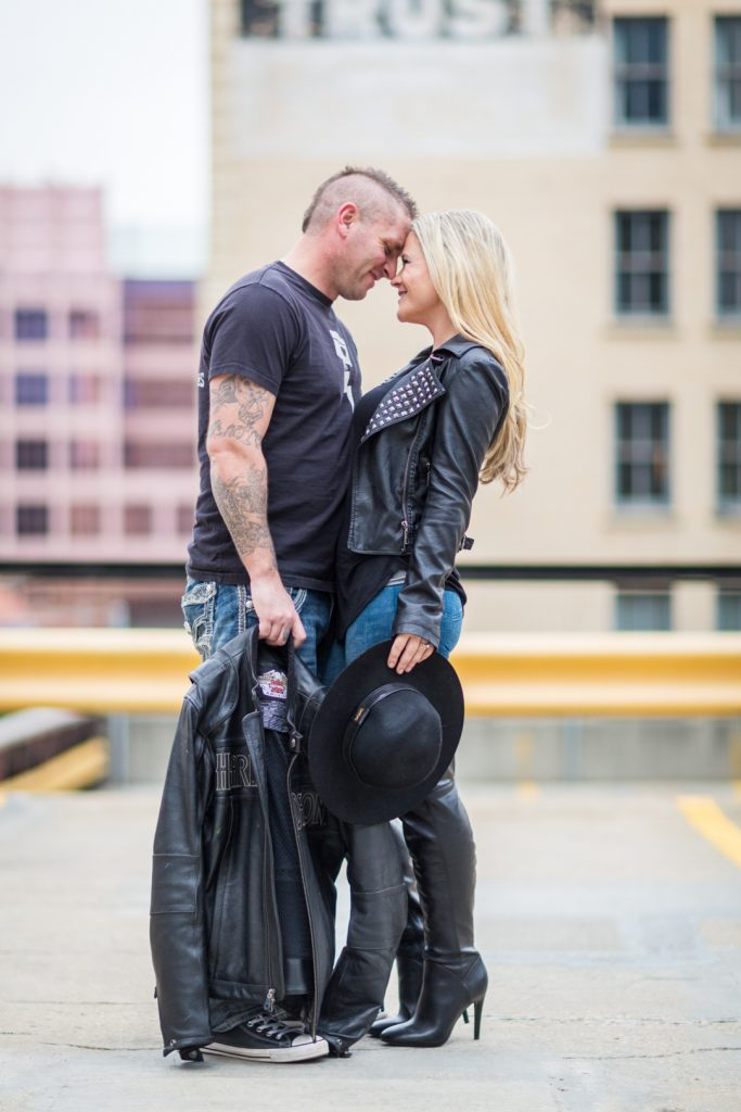 Downtown Edmonton engagement photo locations