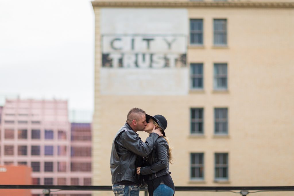 Downtown Edmonton engagement photos