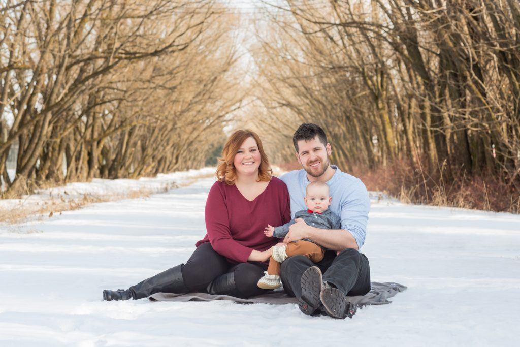 Edmonton Winter Family Pictures