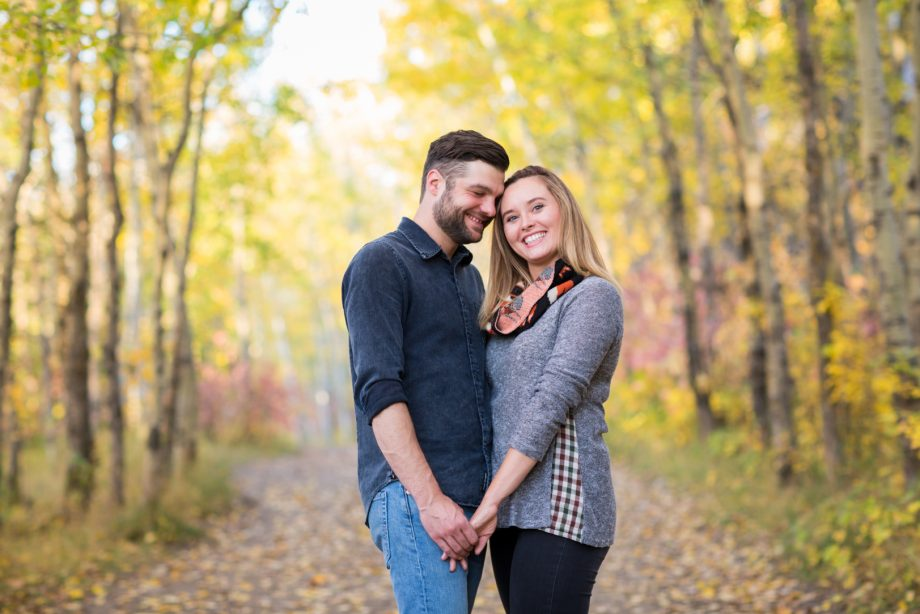Terwilliger Park Engagement Photos – Kylee & Colin