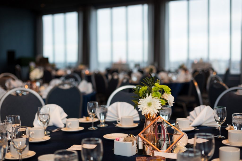 Delta Edmonton South Hotel wedding reception