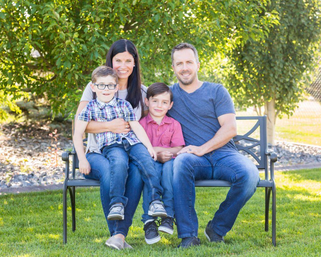 casual Outdoor Family Photos