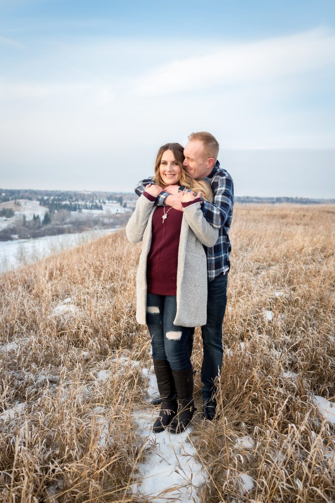 Strathcona Park Winter Engagement pictures
