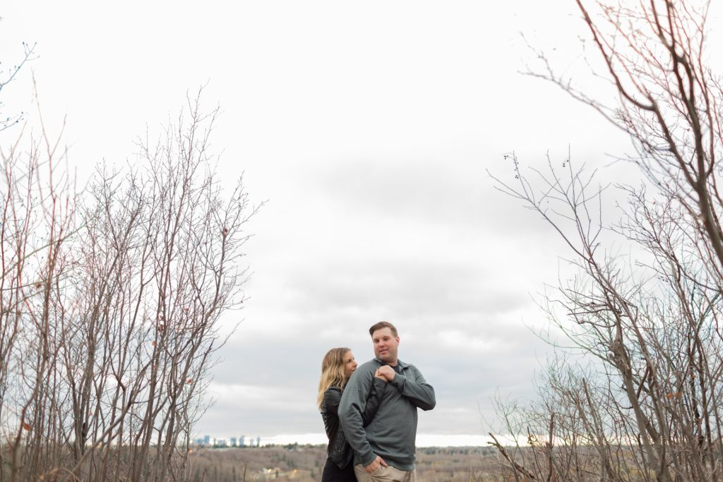 Strathcona science park engagement pictures